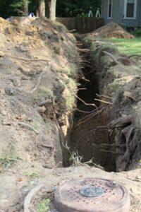 Water line repair Lawrenceville