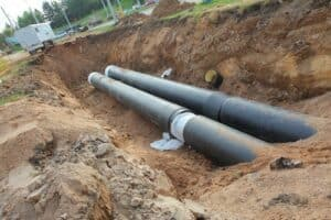 Water Line Replacements in Monroe