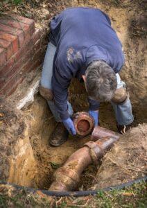 Sewer Line Repair in Covington